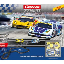 PISTA ELETTRICA DIGITALE POWER SPEEDERS - CARRERA 30182