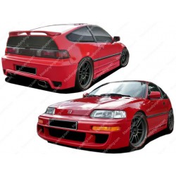 KIT ESTETICO COMPLETO IN VETRORESINA HONDA CIVIC CRX ED KIT