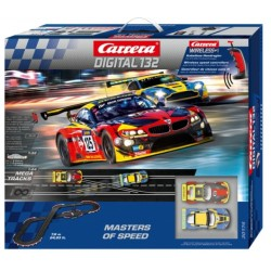 PISTA ELETTRICA DIGITALE MASTERS OF SPEED WIRELESS - CARRERA 30174
