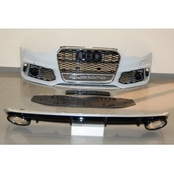 KIT ESTETICO COMPLETO IN ABS PER AUDI A6 LOOK RS6 DAL 2013