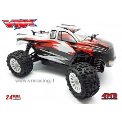 VRX RACING RH1811 Monster truck MT-BD scala 1/18 motore elettrico a spazzole RC-370 radio 2.4GHz RTR 4WD VRX