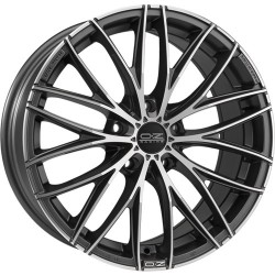 OZ RACING CERCHI IN LEGA OZ RACING ITALIA 150 DARK GRAPHITE DIAMOND CUT 19