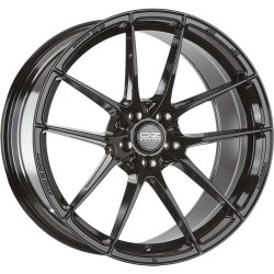 OZ RACING CERCHI IN LEGA OZ RACING LEGGERA HLT GLOSS BLACK 17