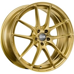 OZ RACING CERCHI IN LEGA OZ RACING LEGGERA HLT RACE GOLD 18