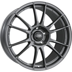 OZ RACING CERCHI IN LEGA OZ RACING ULTRALEGGERA HLT MATT GRAPHITE SILVER 19