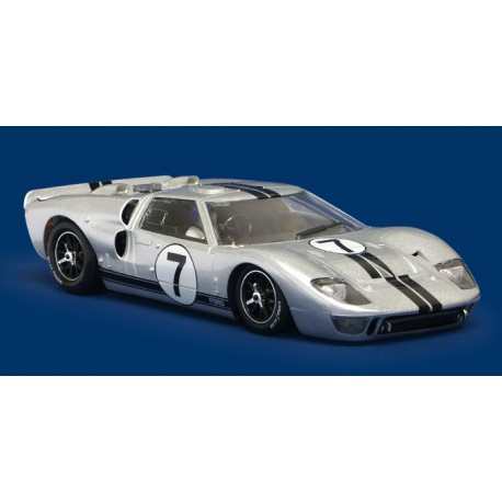 NSR AUTOVETTURA Ford mk ii gt 40 qualification le mans 1966 n.7 silver sw shark 20k