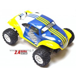 VRX RACING RH1820 Monster truck MAGGIOLINO BT-BD scala 1/18 motore elettrico a spazzole RC-370 radio 2.4GHz RTR 4WD VRX