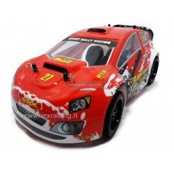 VRX RACING RH1611 Stradale Flash Rally XR16 EBD 1:16 Spazzole Radio 2.4 Ghz ni-mh 7.2V RTR 4WD VRX