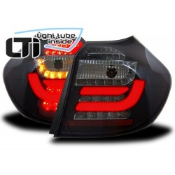 COPPIA DI FANALI POSTERIORI LIGHT TUBE INSIDE LTI NERO BMW SERIE 1 E87