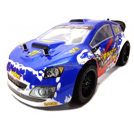 Stradale Flash Rally XR16 EBL 1:16 Brushless VRX Radio 2.4 Ghz lipo 7.4 V RTR 4WD