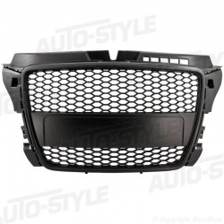 GRIGLIA CALANDRA ANTERIORE SINGLE FRAME IN ABS AUDI A3 8P1