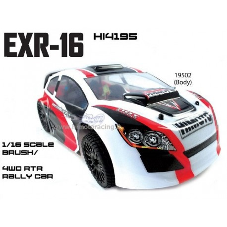 Sport Rally EXR-16 Himoto 1/16 2.4Ghz 4WD RTR