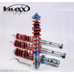 V-MAXX ASSETTO REGOLABILE IN ALTEZZA BMW SERIE 3 E46 BERLINA COUPE' CABRIO COMPACT TOURING