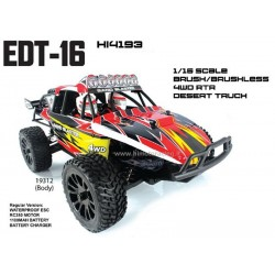Buggy Desert EDT-16 Brushless Himoto 1/16 4wd 2.4gHz RTR