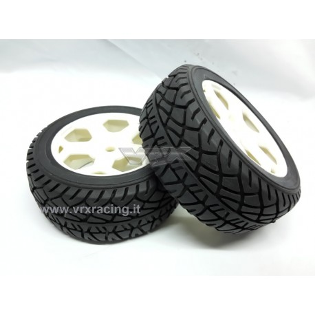 VRX Ruote complete 1/10 on-road Rally 2pz VRX