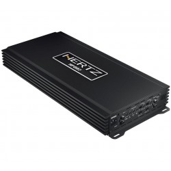 HERTZ HP 802 AMPLIFICATORE STEREO CON CROSSOVER SERIE SPL SHOW 1800W RMS